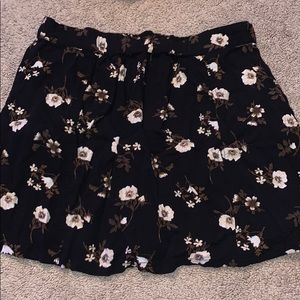 Kendall and Kylie Flower Skirt